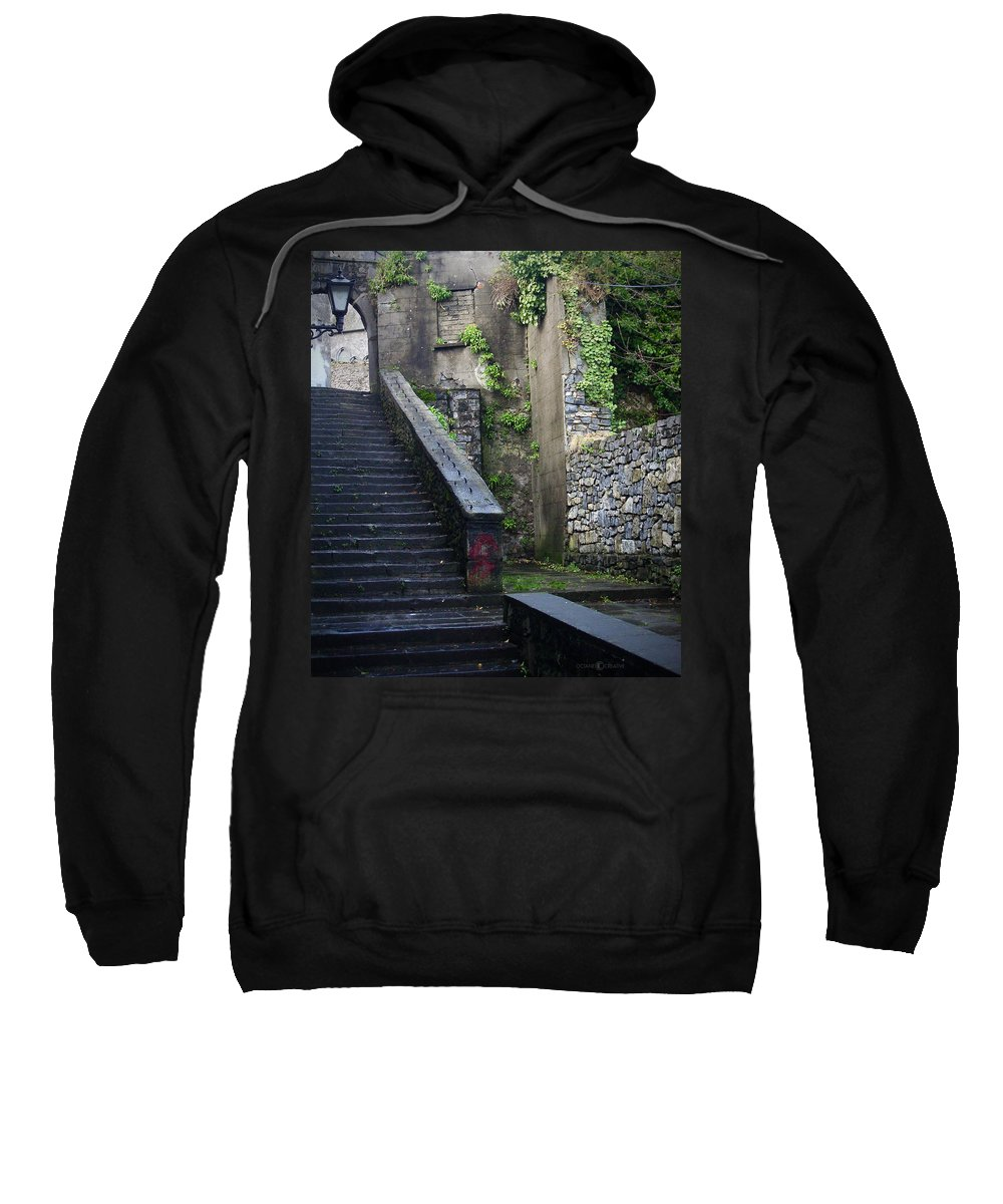 Stairs Sweatshirt featuring the photograph Cathedral Stairs by Tim Nyberg