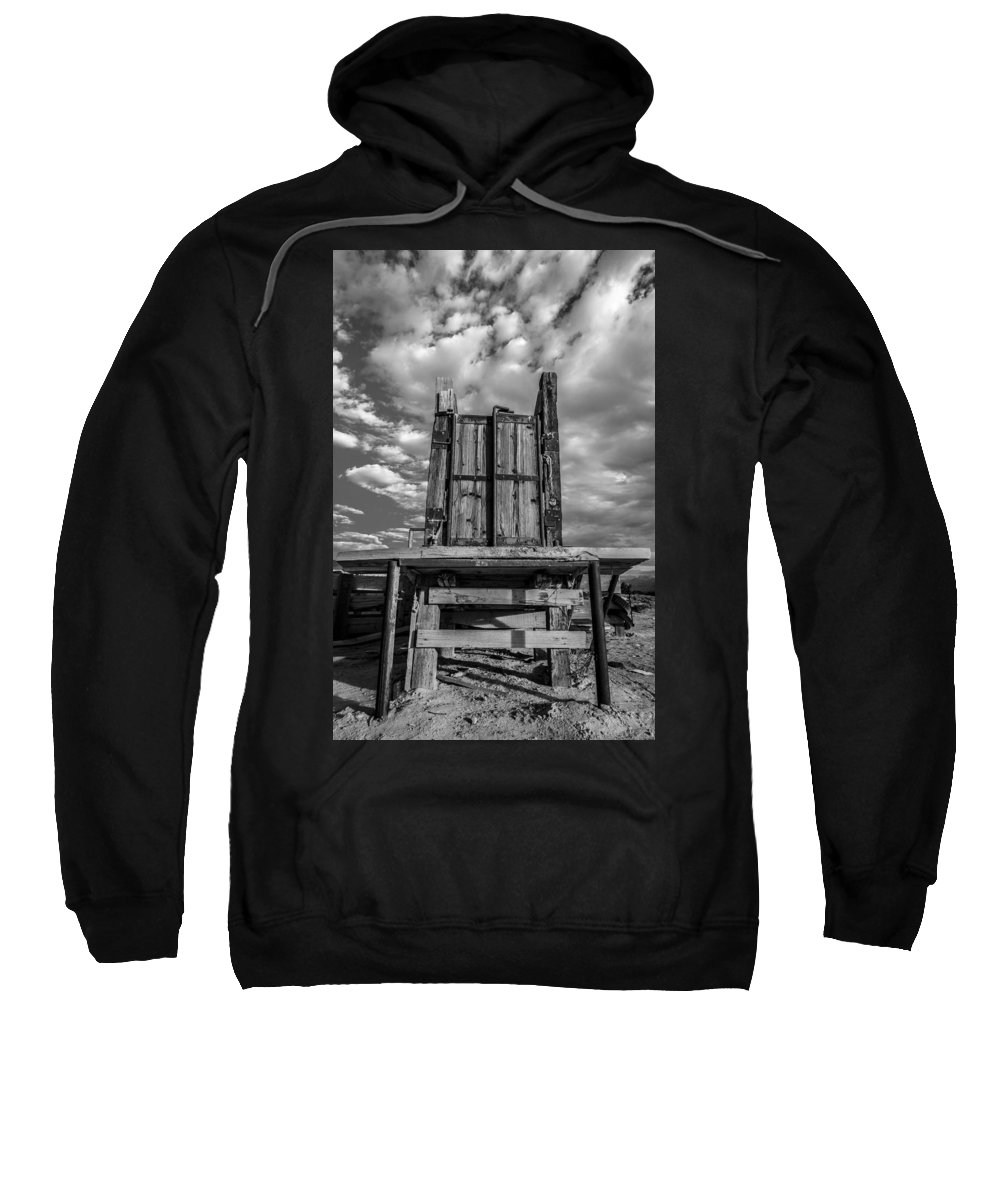 Western Sweatshirt featuring the photograph Cattle Chute by Dustin Clark