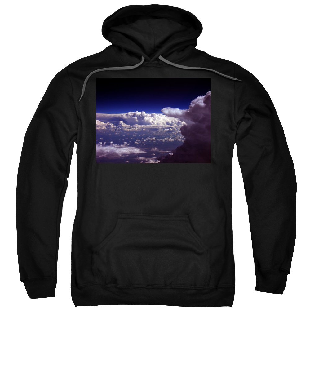 Aviation Art Sweatshirt featuring the photograph Cb2.076 by Strato ThreeSIXTYFive