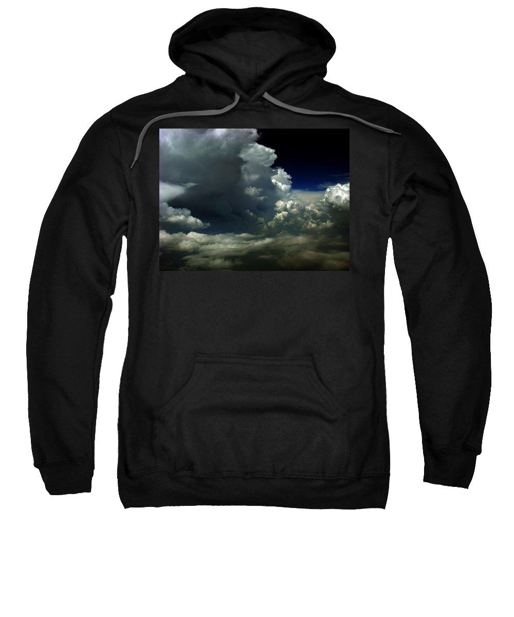 Aviation Art Sweatshirt featuring the photograph Cb2.122 by Strato ThreeSIXTYFive