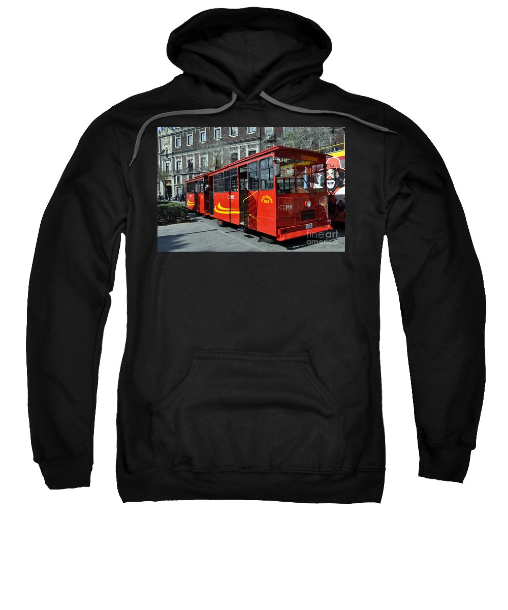 Cdmx Transit Sweatshirt featuring the photograph Cdmx Transit by Andrew Dinh