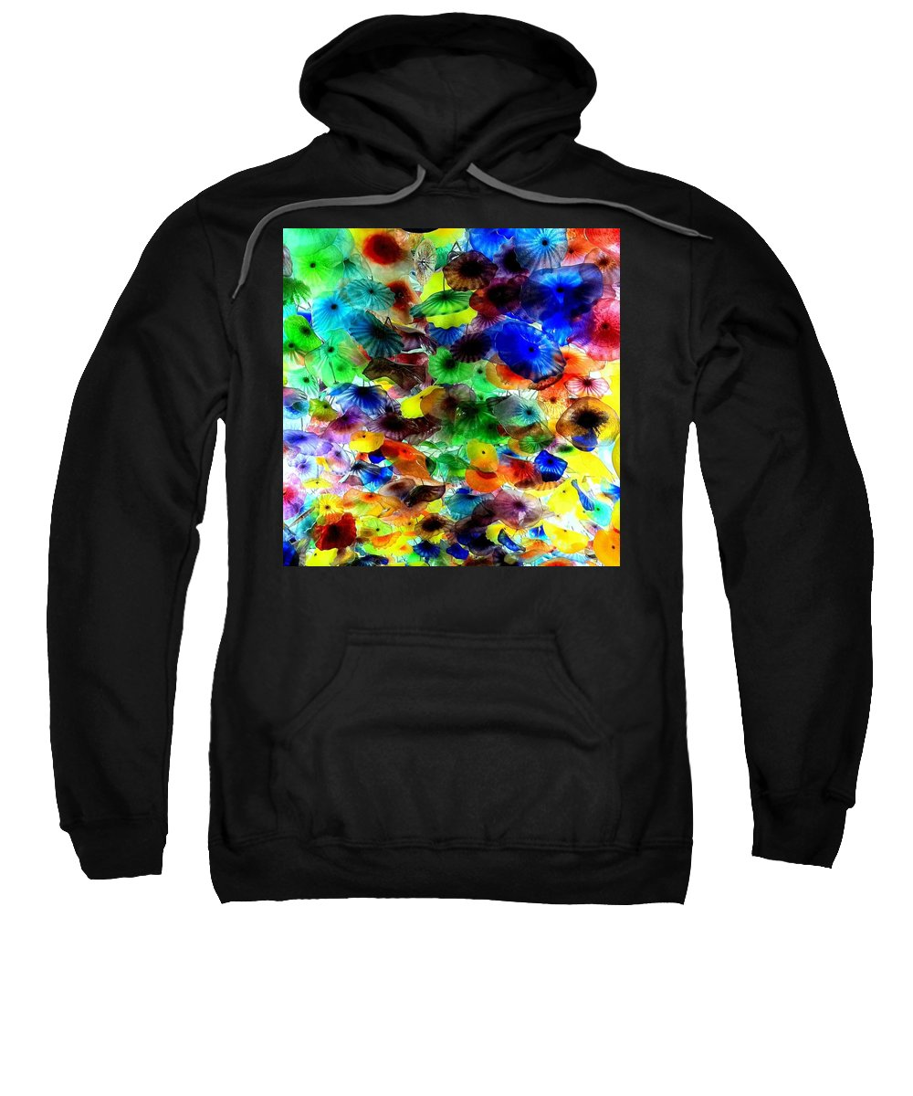 Glass Sweatshirt featuring the photograph Ceiling by Jane Merrit