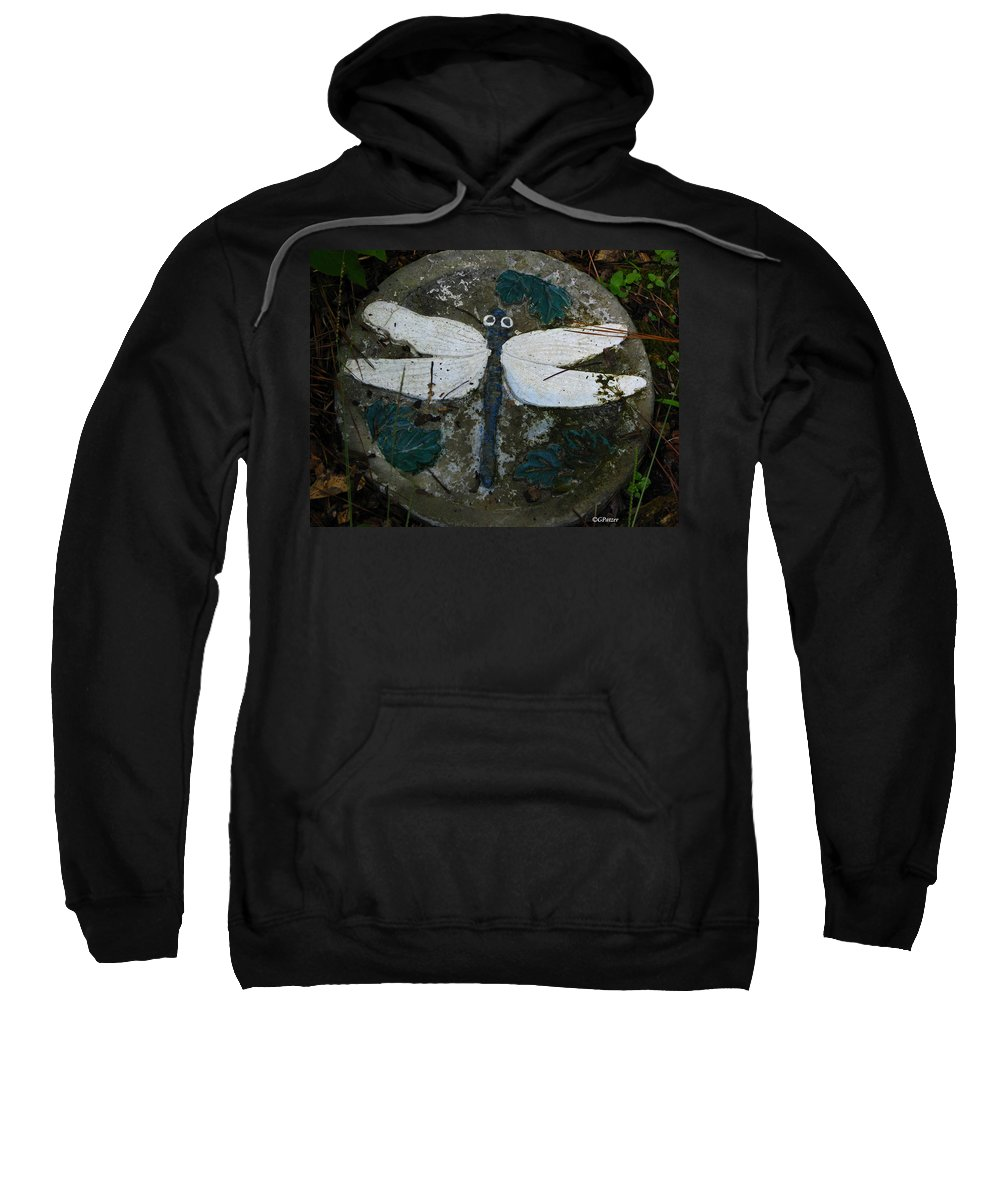 Patzer Sweatshirt featuring the photograph Cement Dragon by Greg Patzer