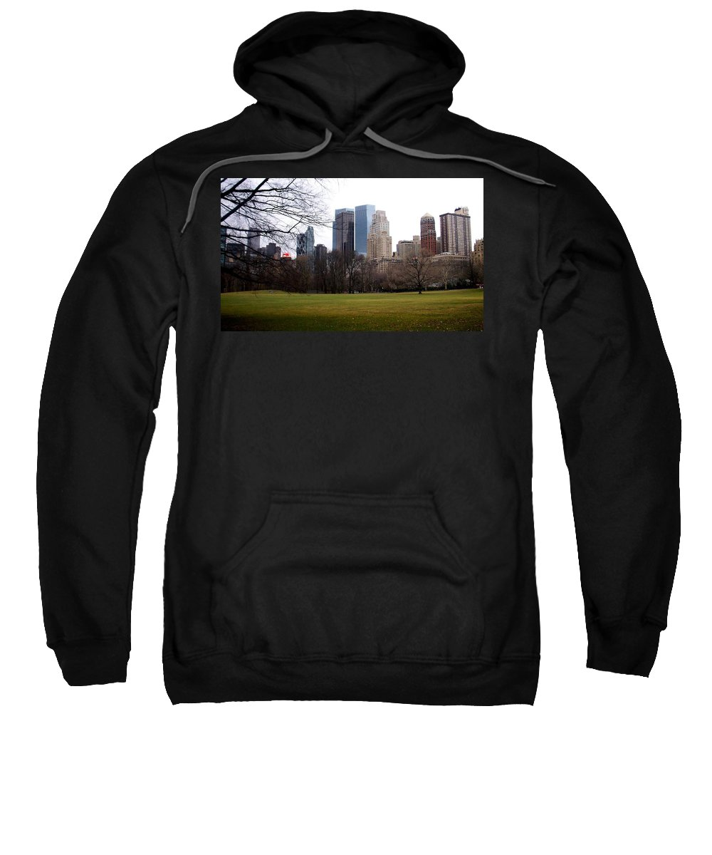 Central Park Sweatshirt featuring the photograph Central Park by Anita Burgermeister