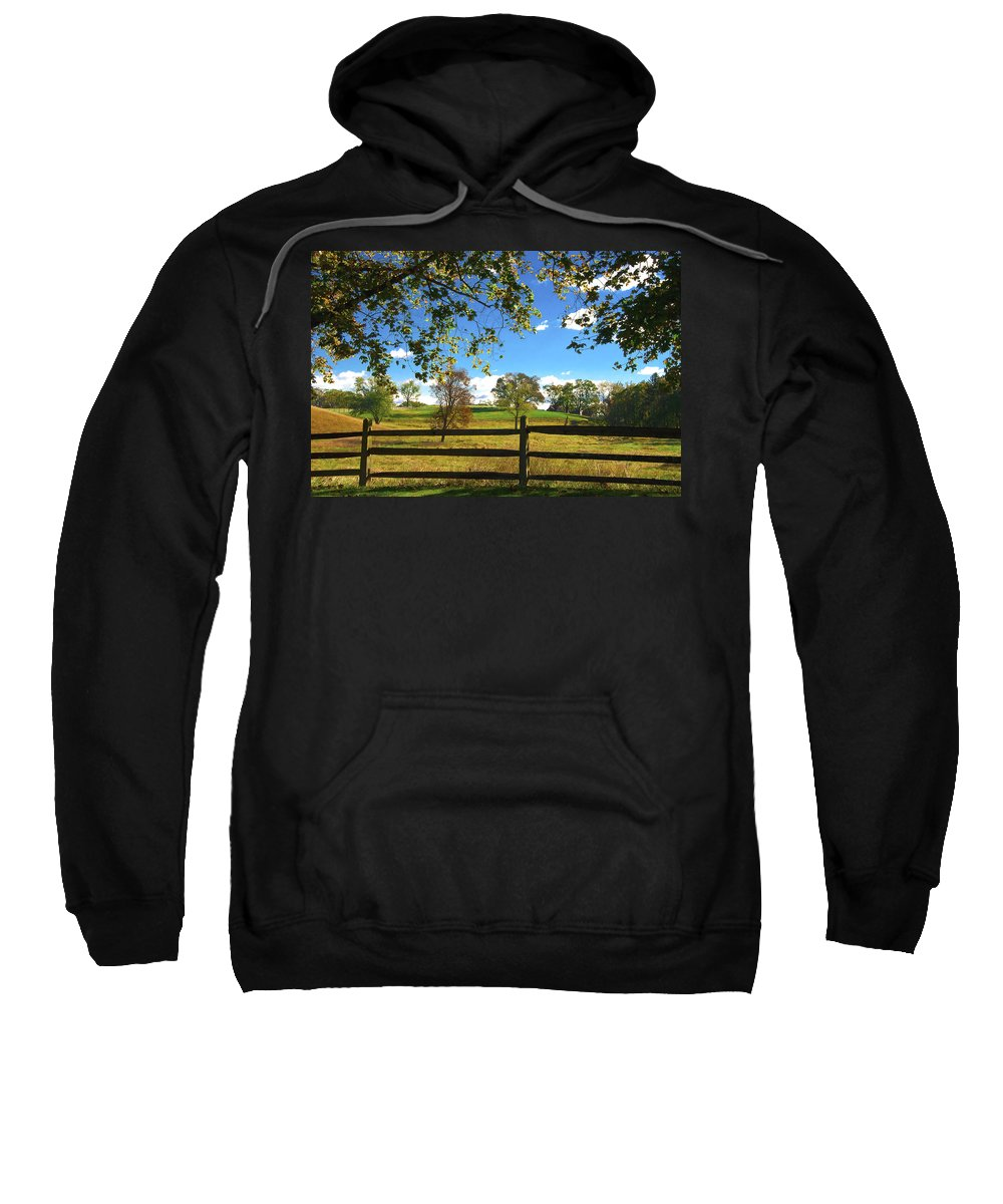 Fall Sweatshirt featuring the photograph Changing Seasons by Bill Cannon