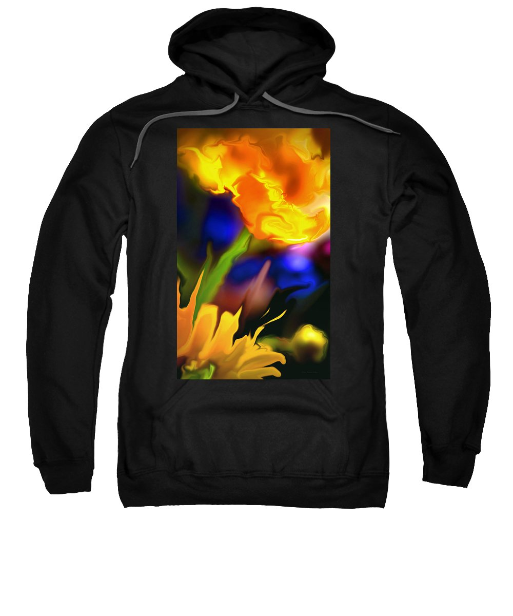 Flowers Sweatshirt featuring the photograph Charisma... by Arthur Miller