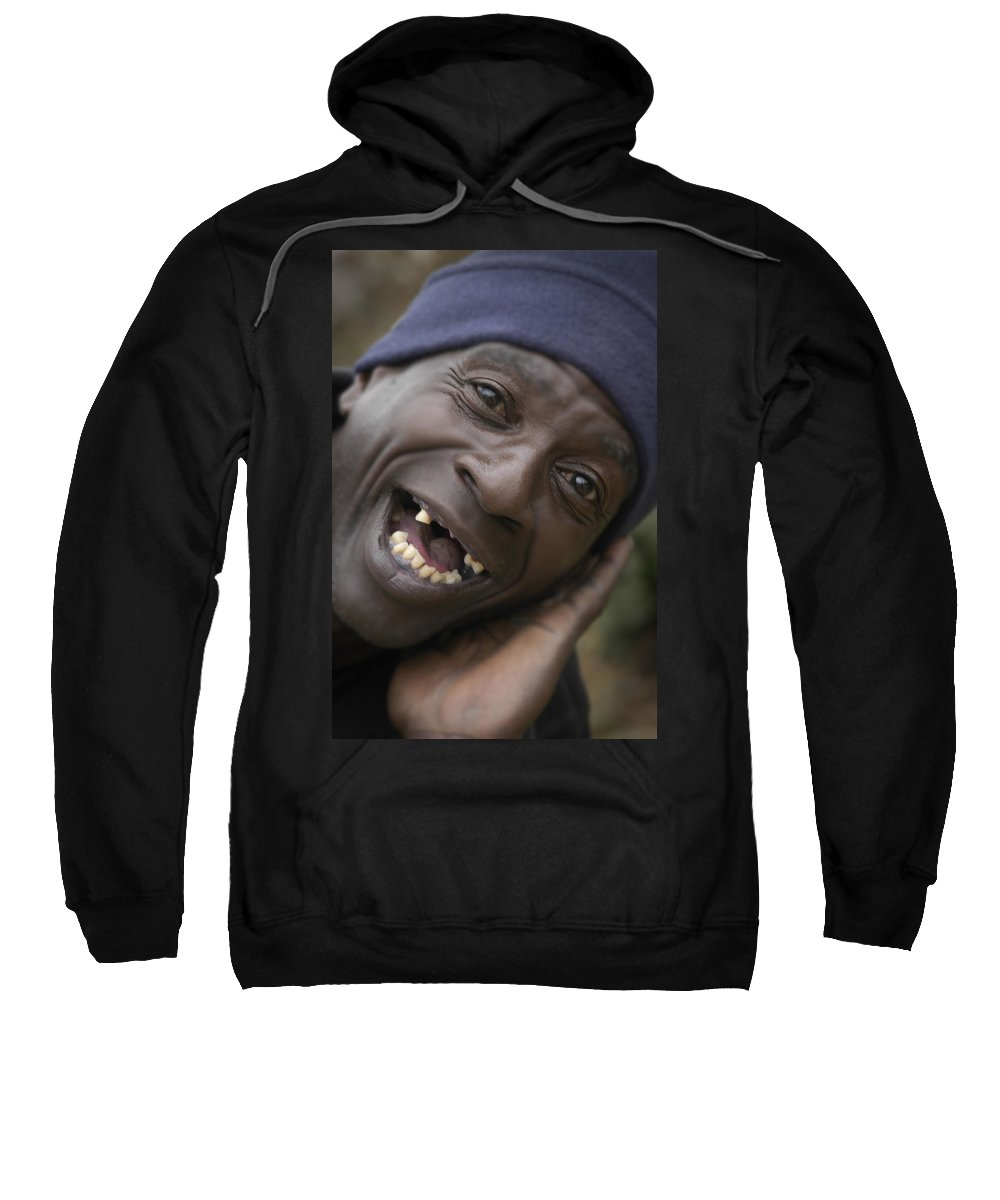 Toothless Sweatshirt featuring the photograph Cheese by D'Arcy Evans