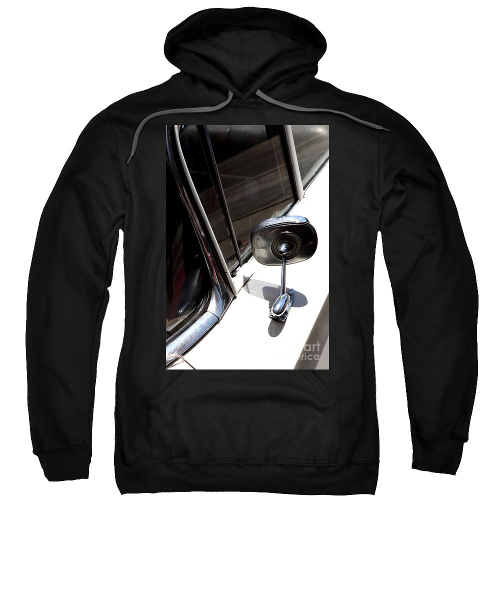 Biscayne Sweatshirt featuring the photograph Chevy Looking Back by Amanda Barcon