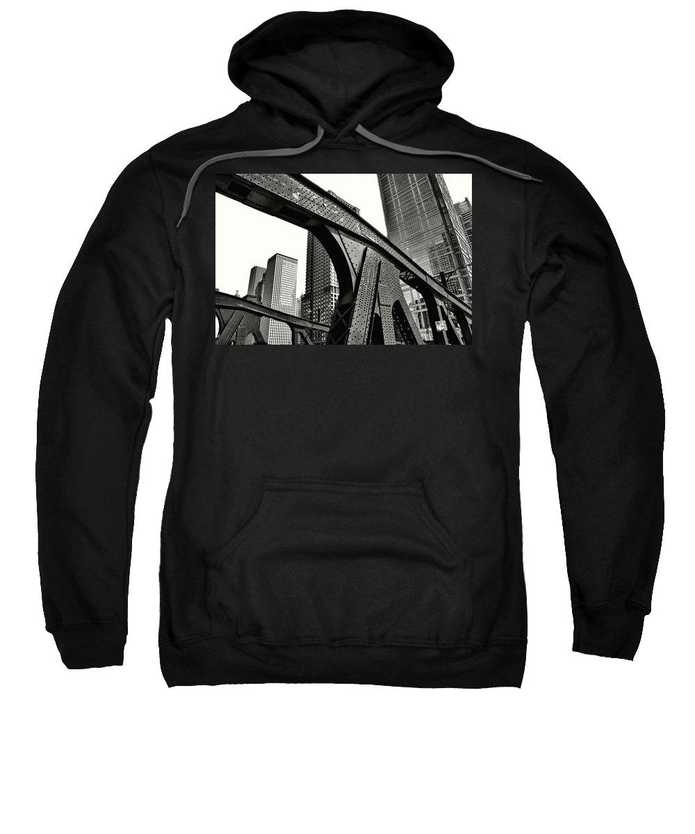 Chicago Sweatshirt featuring the photograph Chicago by Frank Verreyken