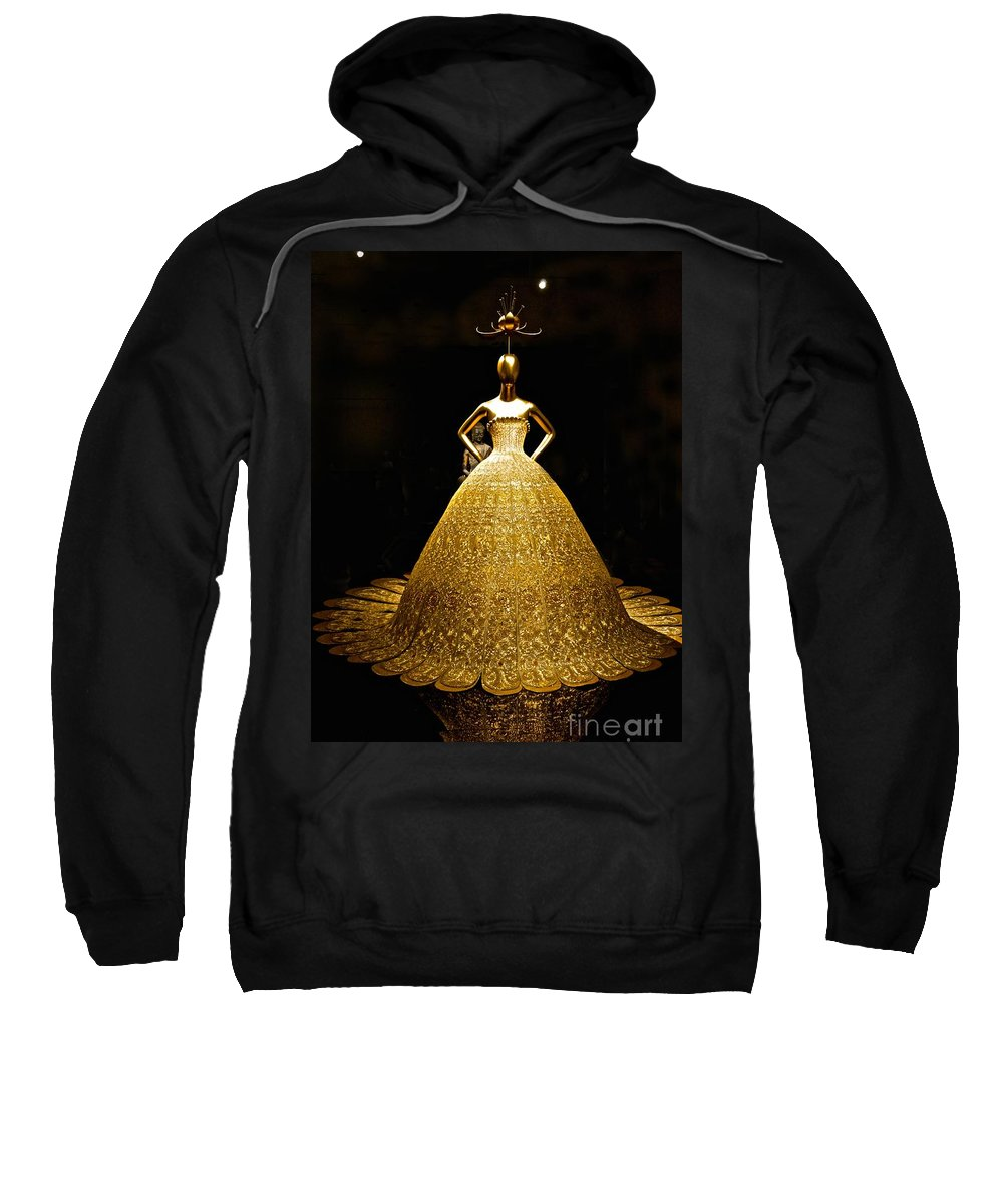 China Sweatshirt featuring the photograph China 2 Antiquities Collection by Saundra Myles