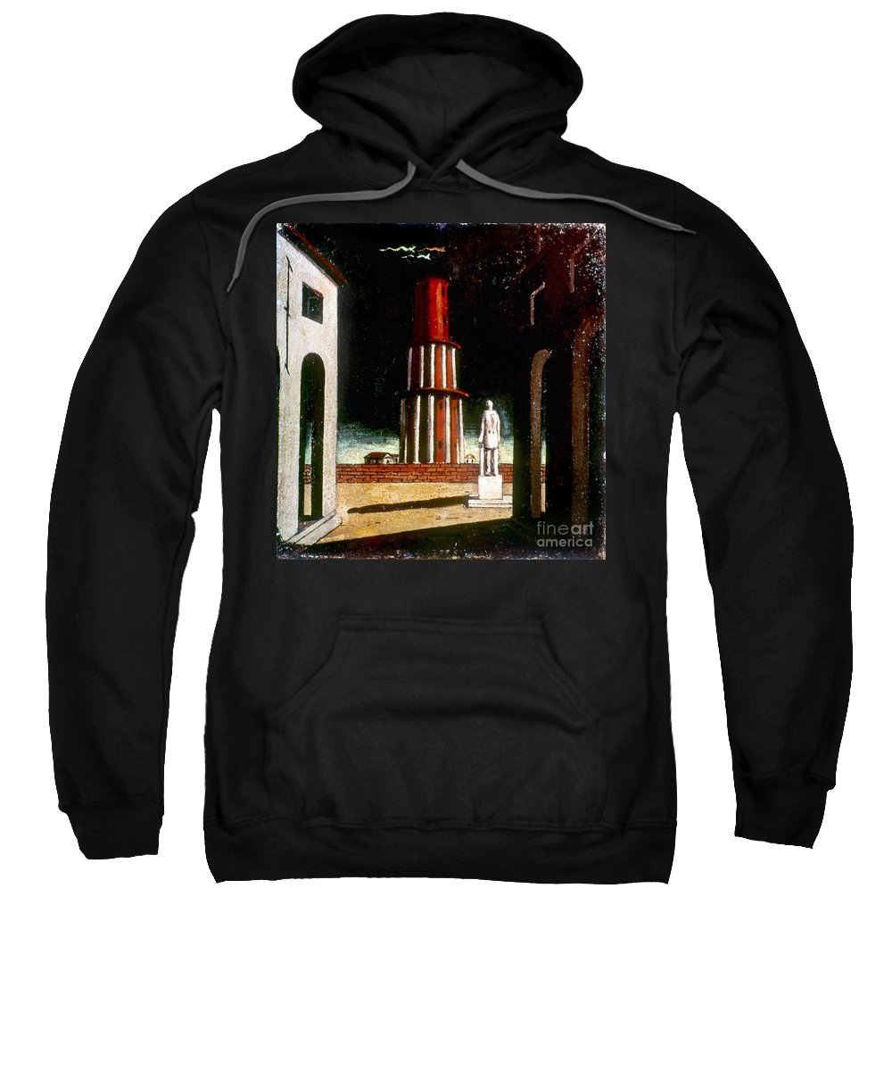1914 Sweatshirt featuring the photograph Chirico: Grand Tour, 1914 by Granger