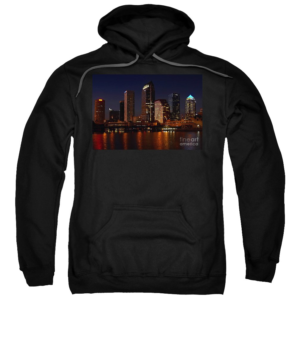 Tampa Florida Sweatshirt featuring the photograph Cigar City by David Lee Thompson