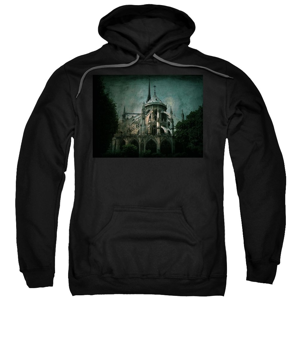 Notre Dame Sweatshirt featuring the photograph Citadel by Andrew Paranavitana