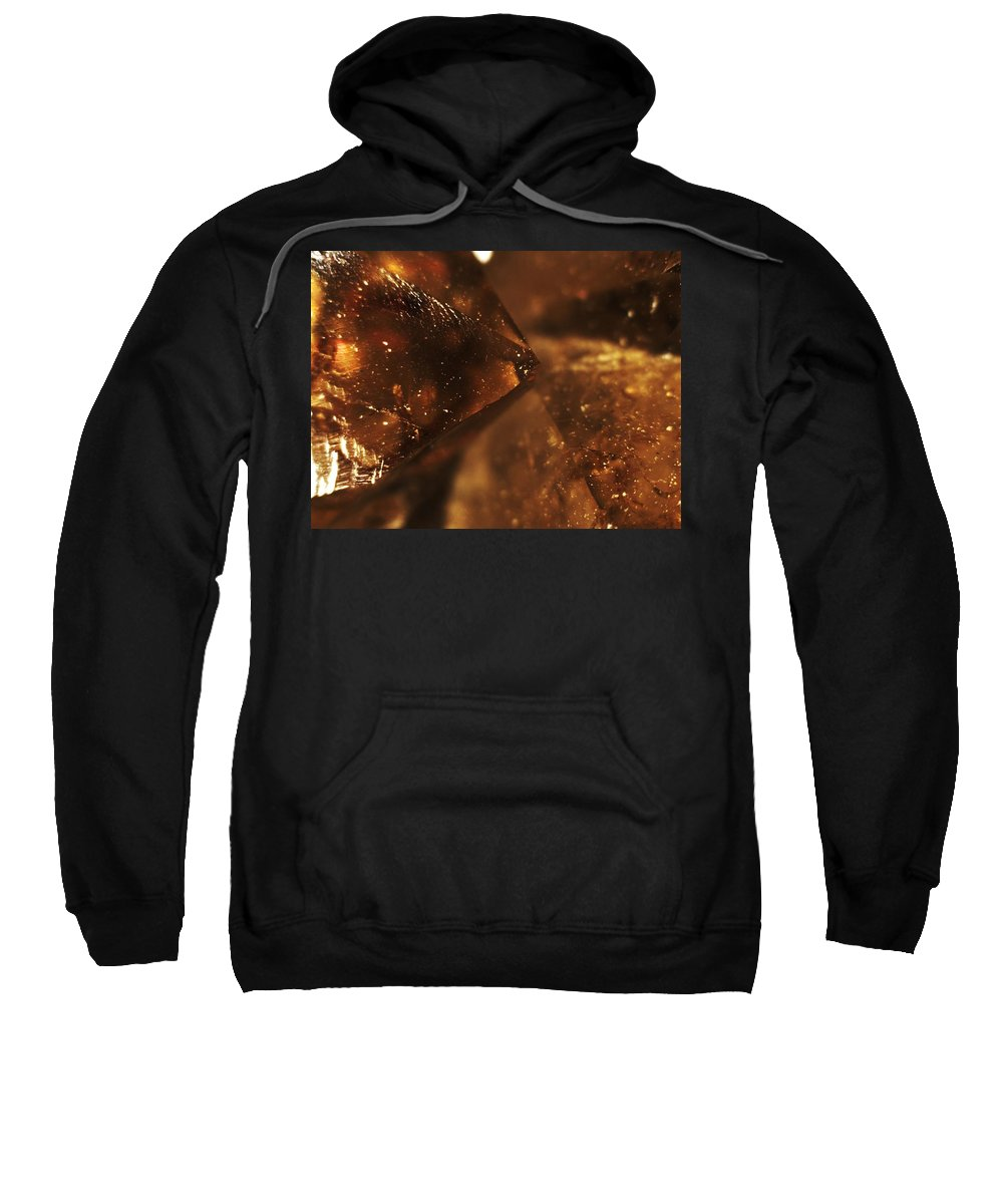 Citrine Sweatshirt featuring the photograph Citrine On Angle by Michael Hackney