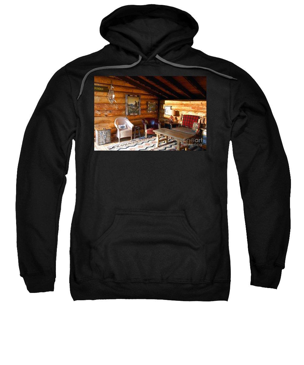 Adirondack Sweatshirt featuring the photograph Classic Adirondack by David Lee Thompson