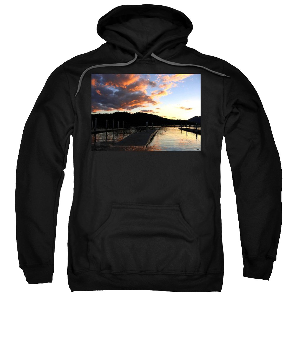 Sunset Sweatshirt featuring the photograph Clear Lake Sunset by Will Borden