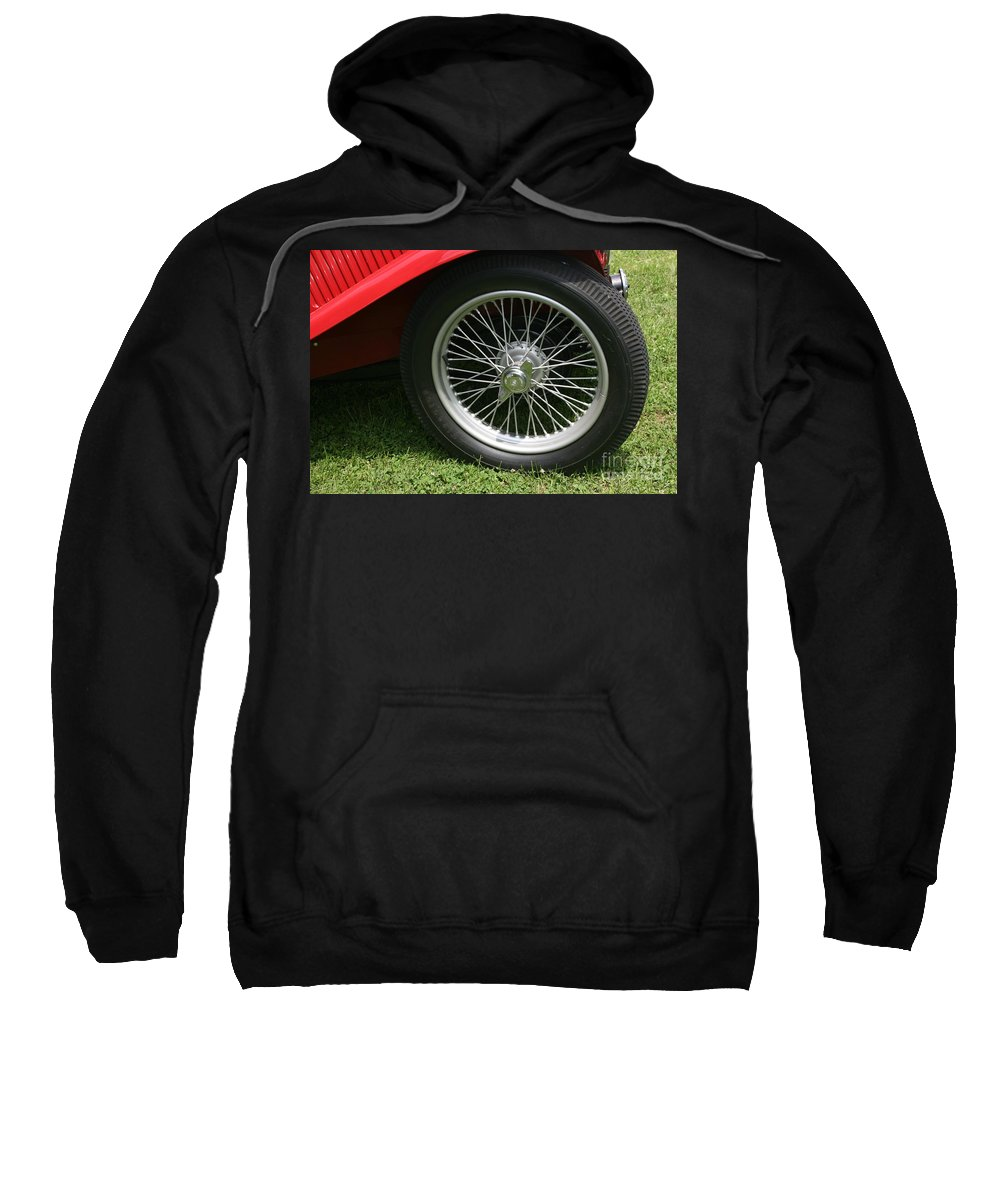 Car Sweatshirt featuring the photograph Close-up Of Past by Dawn Downour