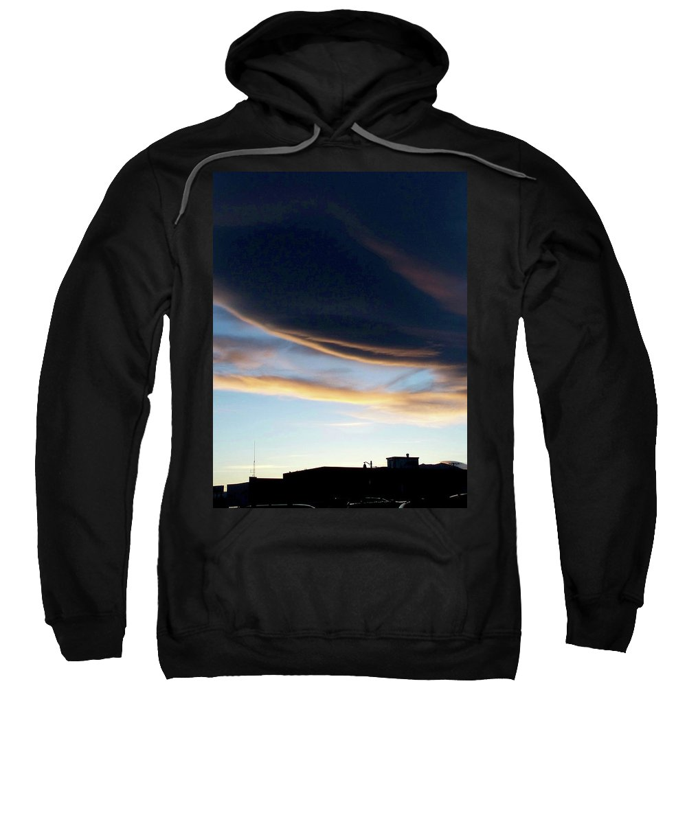 Strange Clouds Sweatshirt featuring the photograph Cloud 16 by Kit Kay