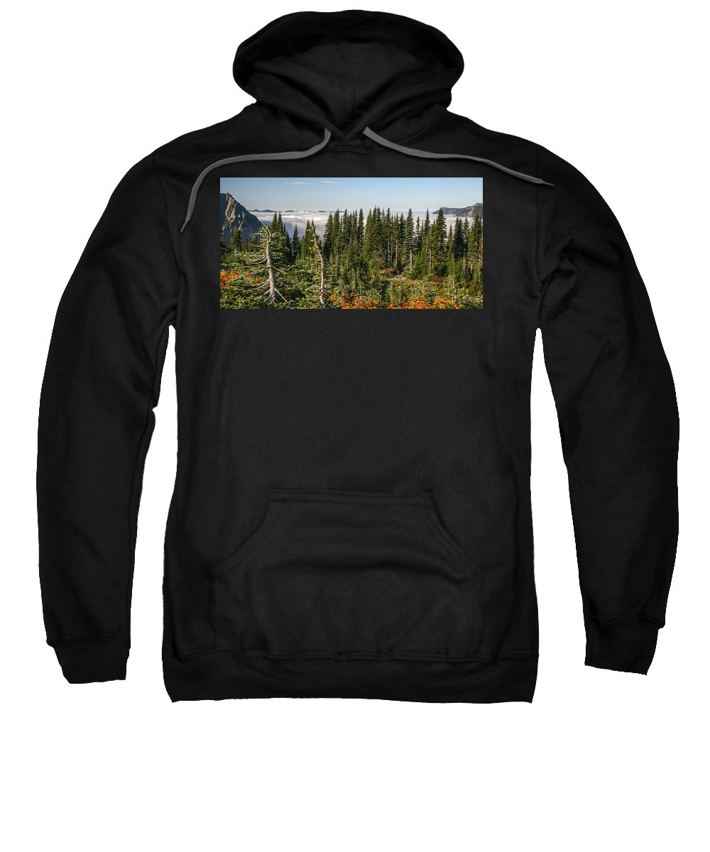 Clouds Sweatshirt featuring the photograph Cloud Layer by Albert Seger