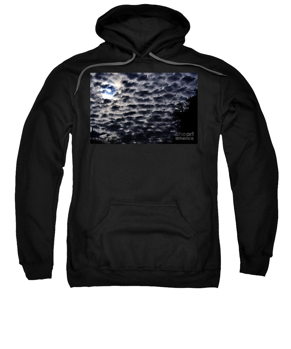 Clay Sweatshirt featuring the photograph Cloud Tiles by Clayton Bruster