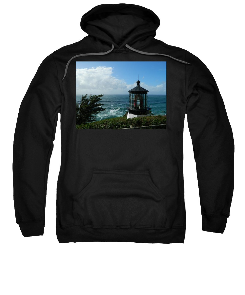 Oregon Sweatshirt featuring the photograph Clouds Moving In by Gallery Of Hope