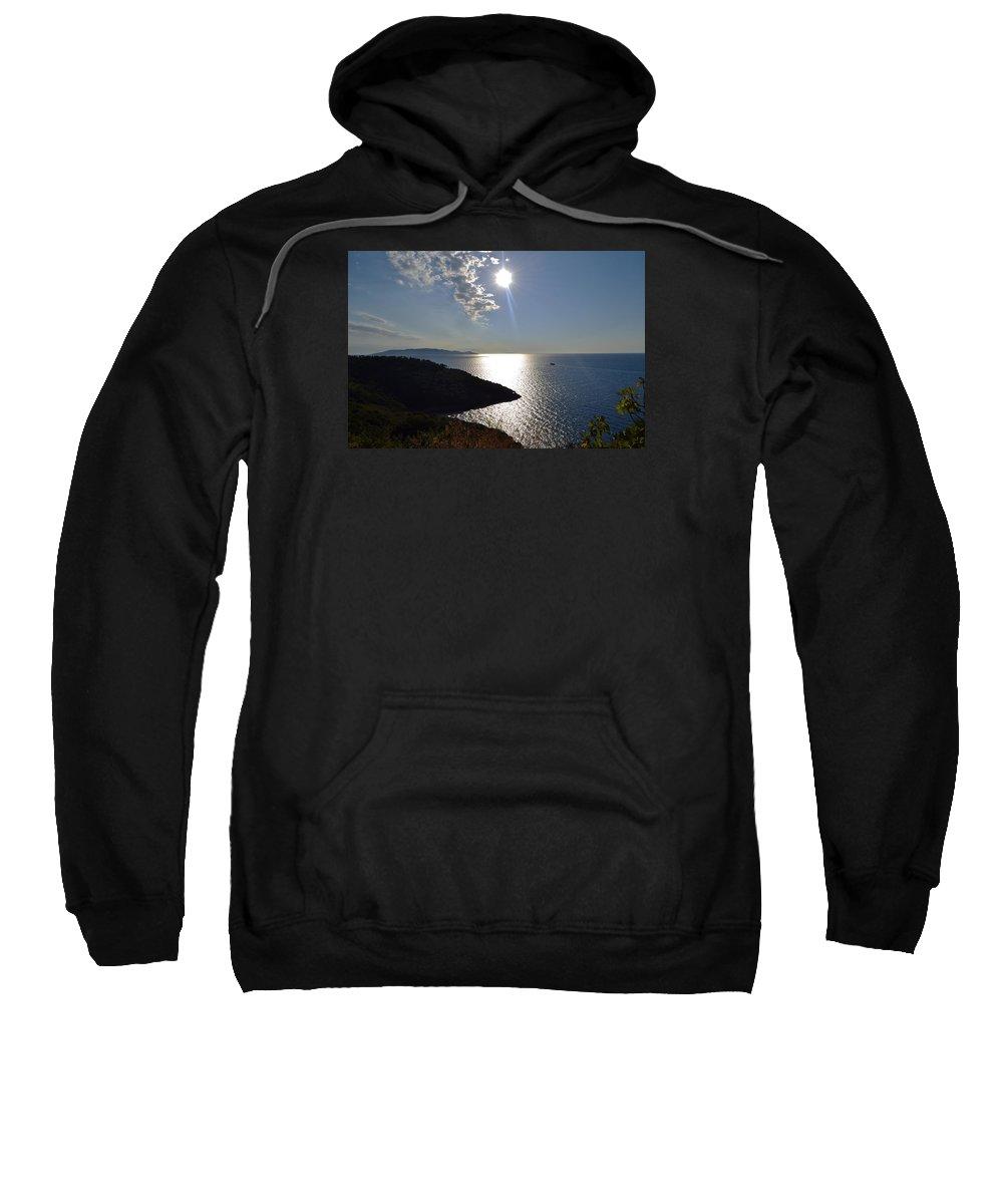 Sun Sweatshirt featuring the photograph Coast by Bastian Brisch