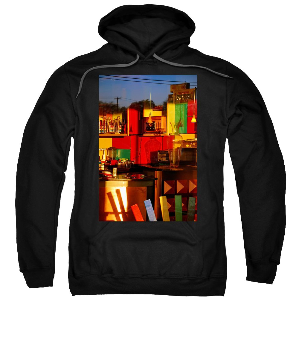 Skip Hunt Sweatshirt featuring the photograph Coffee Shop by Skip Hunt