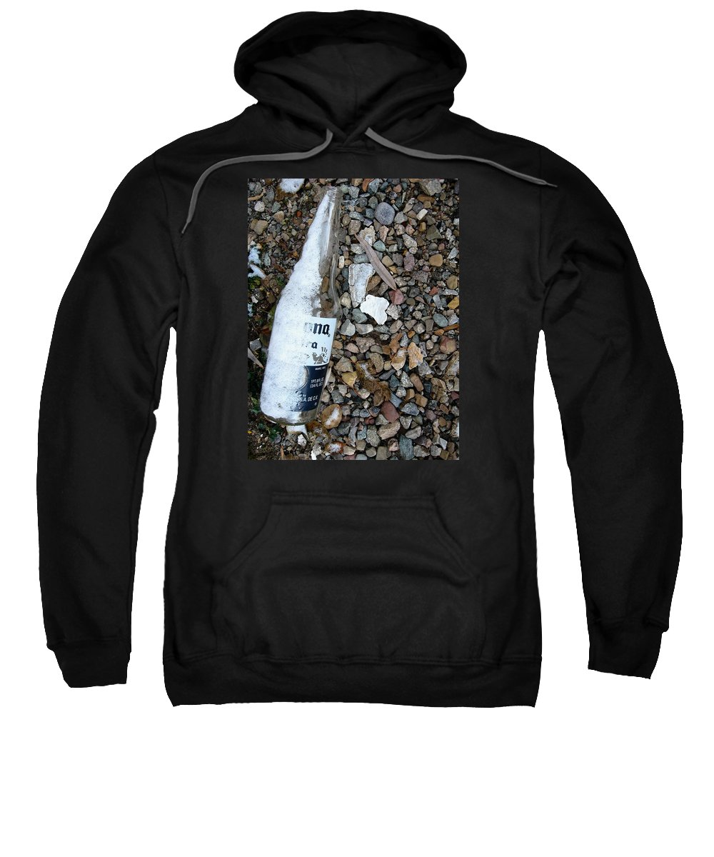 Color Photography Sweatshirt featuring the photograph Cold Like Compulsion by Kirk Griffith