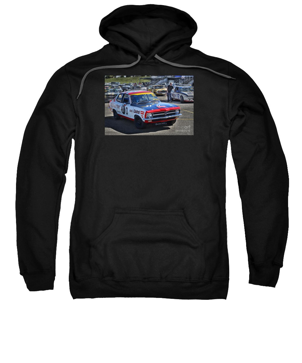 Holden Sweatshirt featuring the photograph Colin Bond Torana Gtr by Stuart Row
