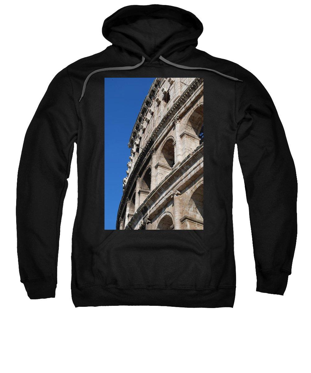 Coliseum Sweatshirt featuring the photograph Coliseum by Christine Oleson