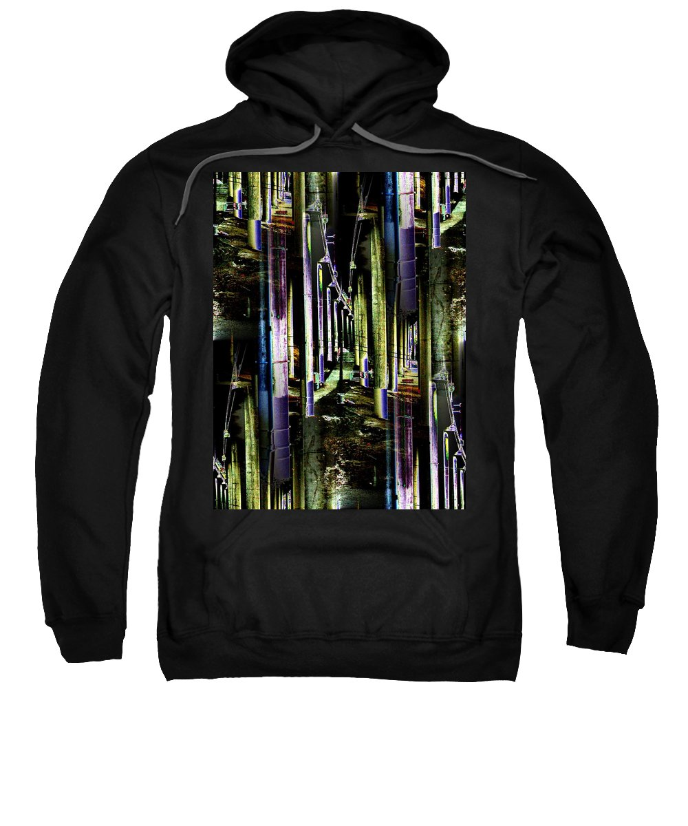Seattle Sweatshirt featuring the photograph Collonade Park by Tim Allen