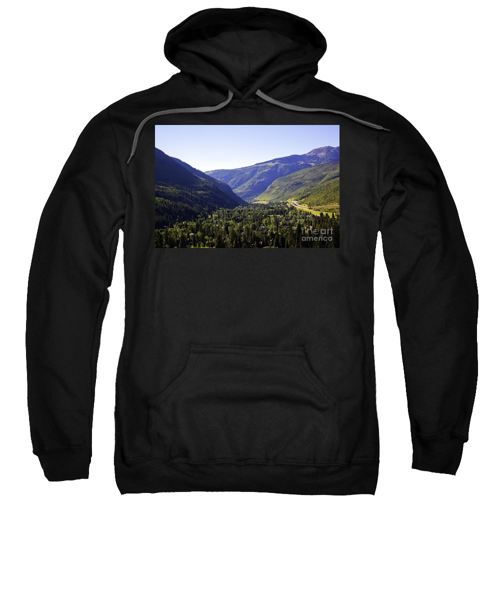 Mountains Sweatshirt featuring the photograph Colorado Mountains by Madeline Ellis