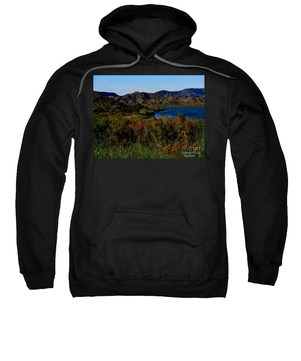 Patzer Sweatshirt featuring the photograph Colorado River by Greg Patzer
