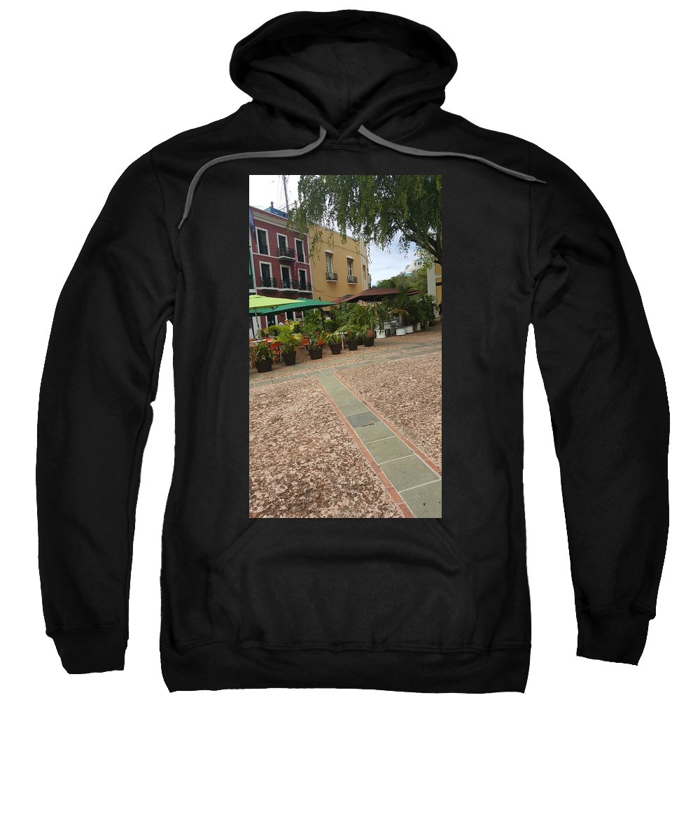 Landscape Sweatshirt featuring the photograph Colorful Scenery by Francisco Marmolejos