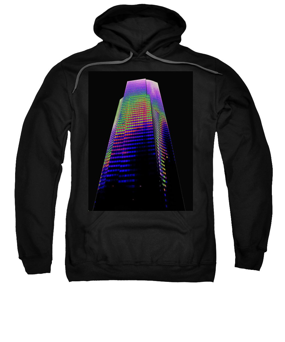 Seattle Sweatshirt featuring the photograph Columbia Tower Seattle Wa by Tim Allen