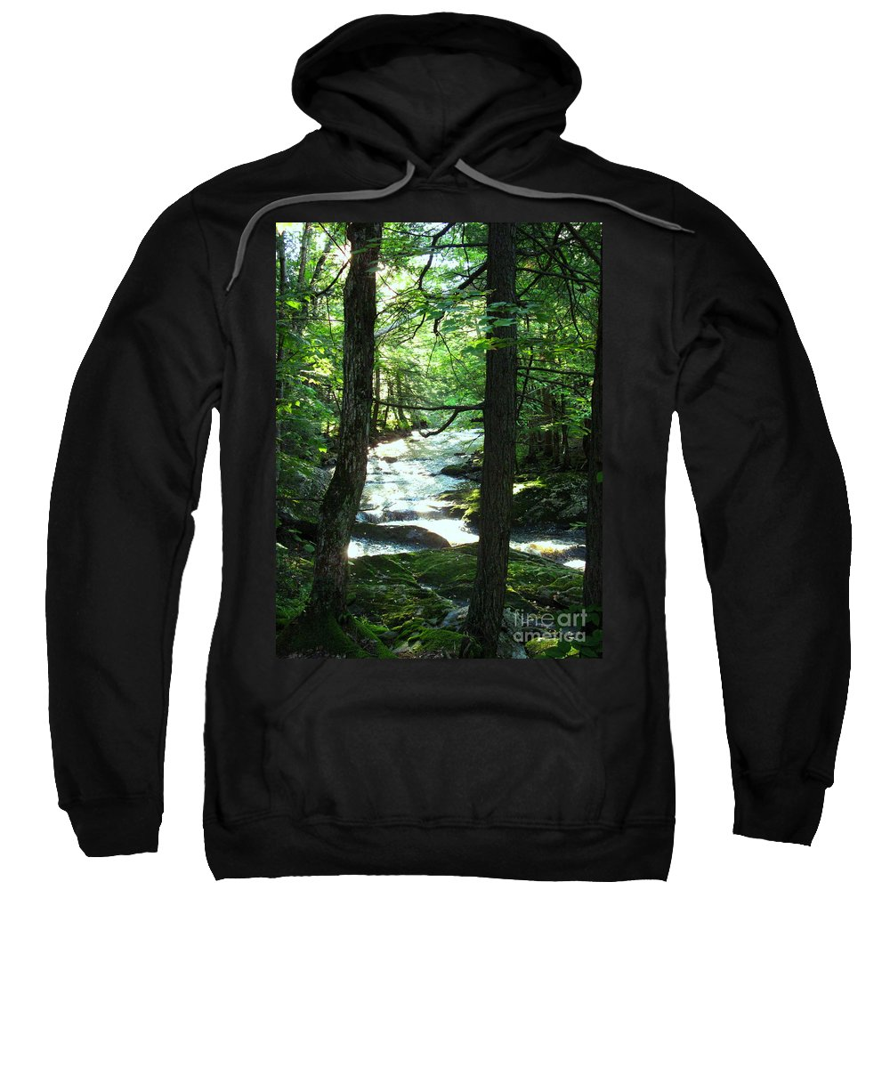 Water Sweatshirt featuring the photograph Peace And Comfort by Sybil Staples
