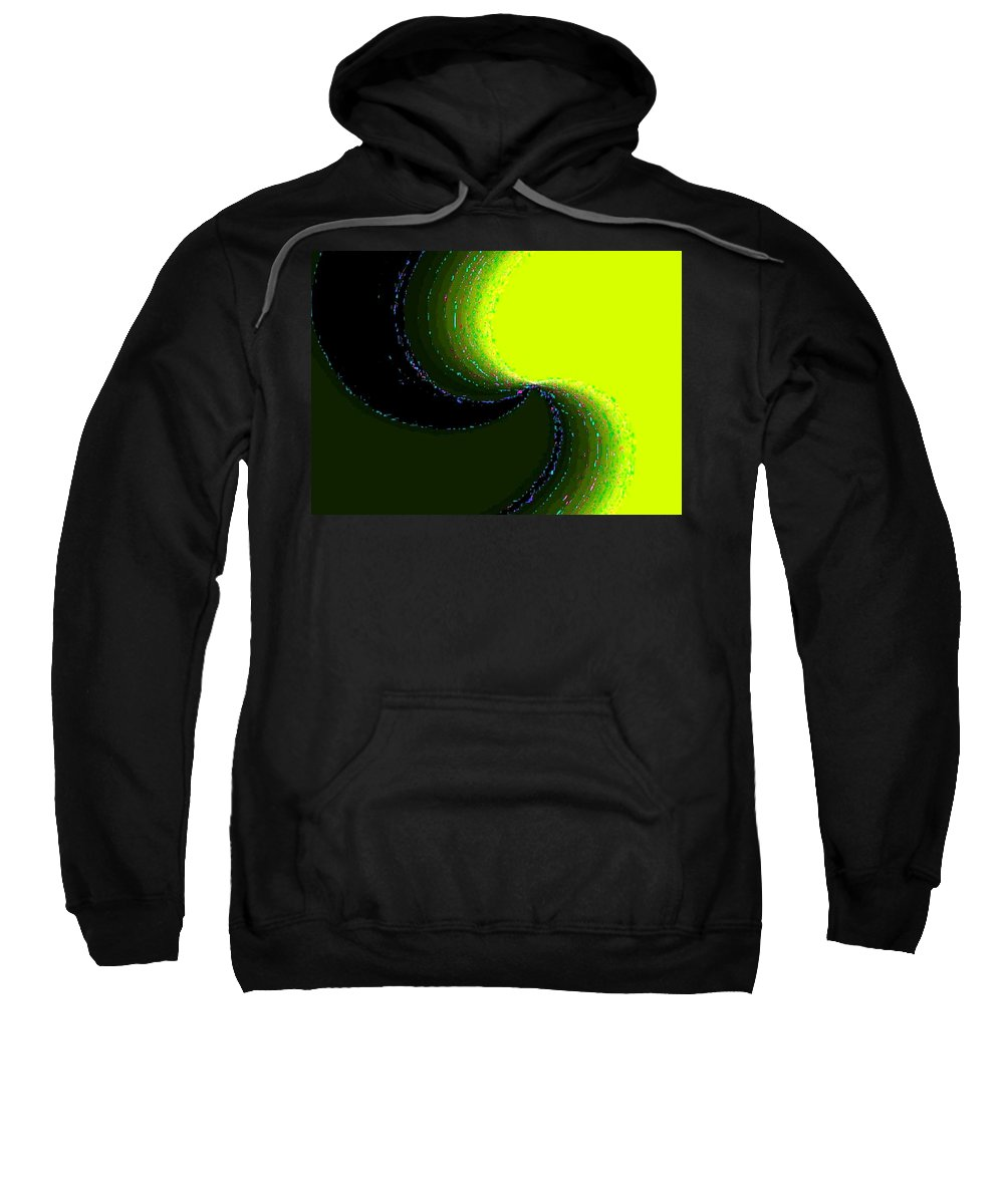 Organic Sweatshirt featuring the digital art Conceptual 5 by Will Borden
