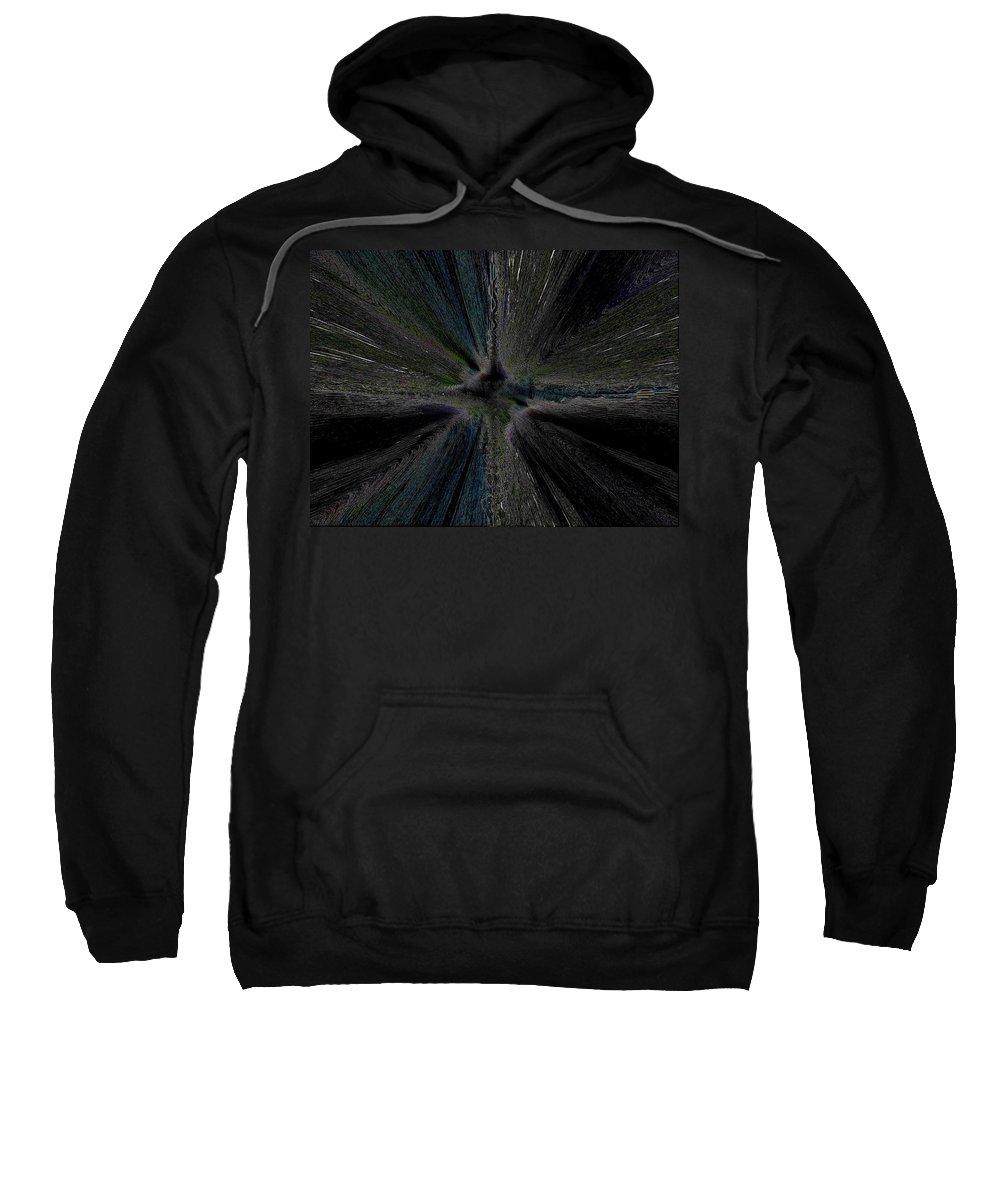 Constellation Sweatshirt featuring the digital art Constellation by Tim Allen