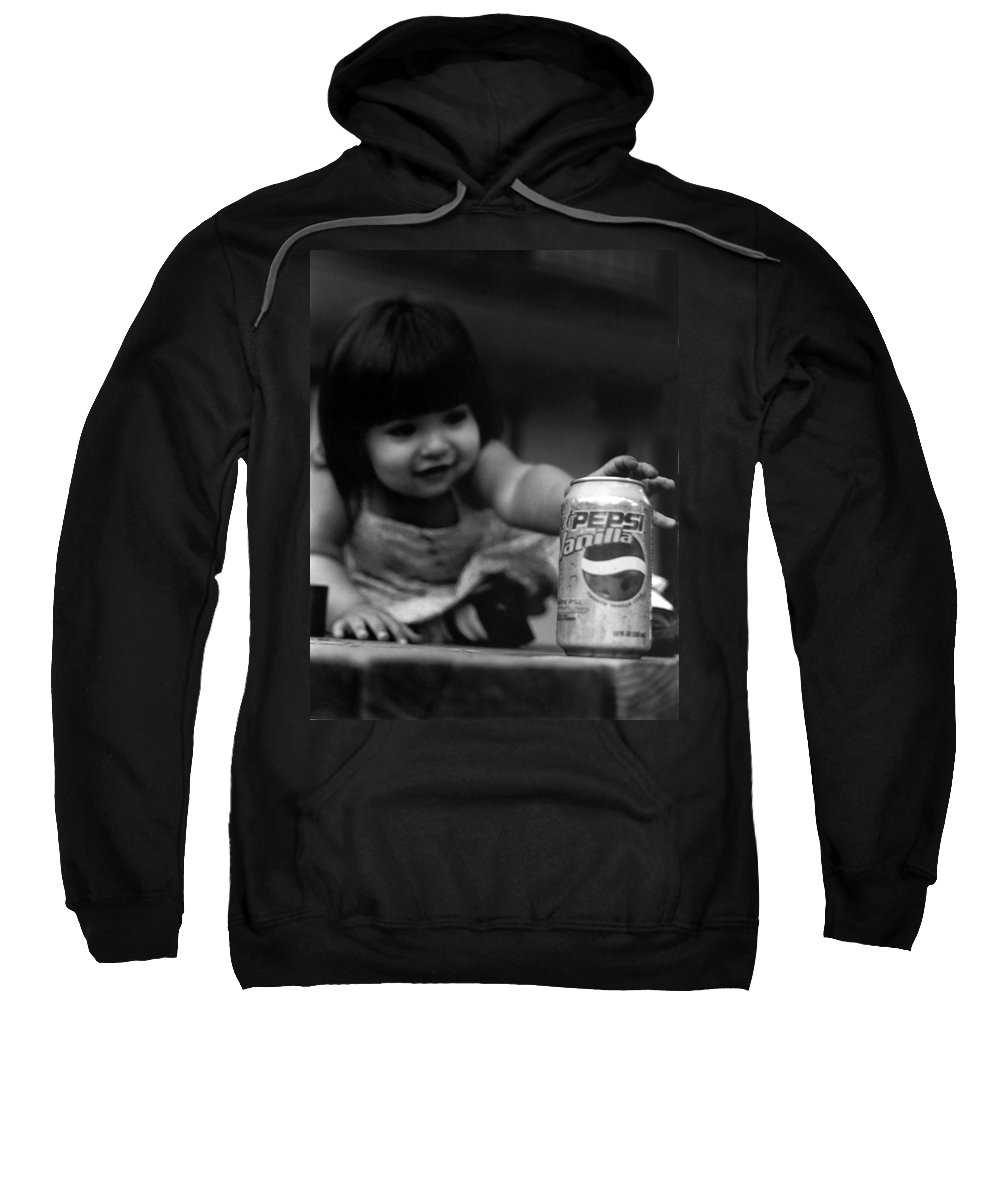 Dark Art Sweatshirt featuring the photograph Consumer by Peter Piatt