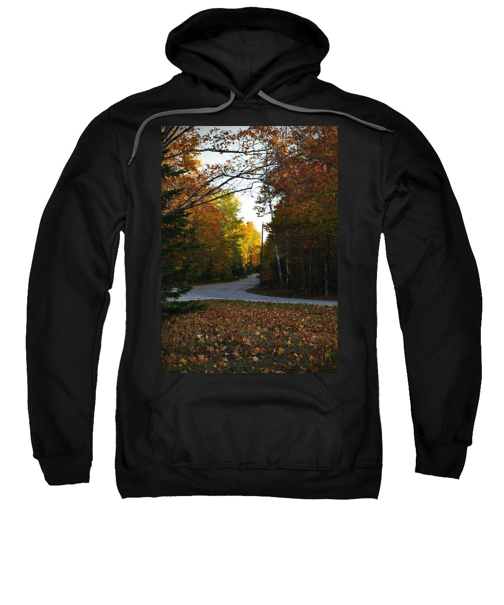 Fall Sweatshirt featuring the photograph Convergence by Tim Nyberg