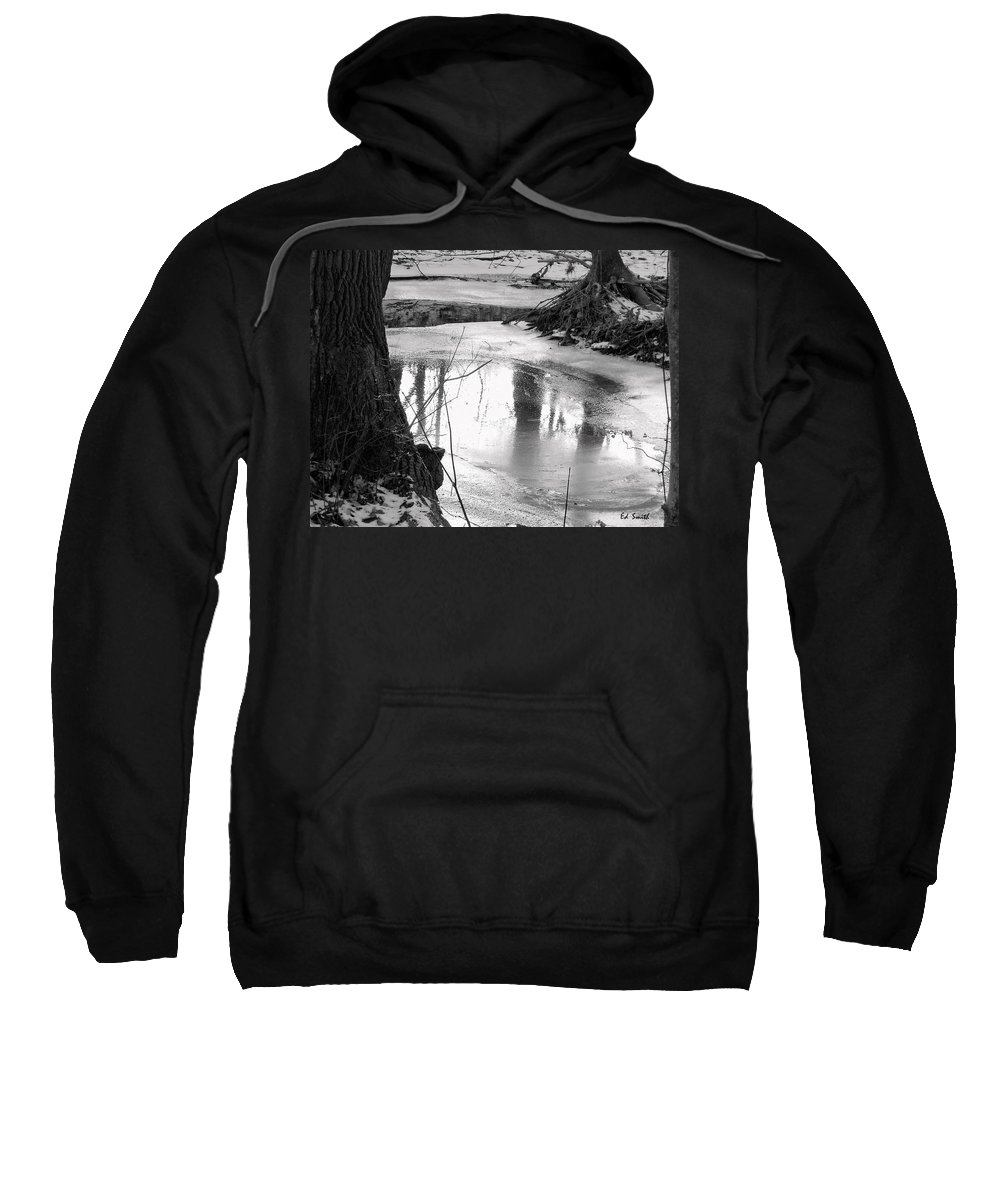 Cool Pool Sweatshirt featuring the photograph Cool Pool by Ed Smith