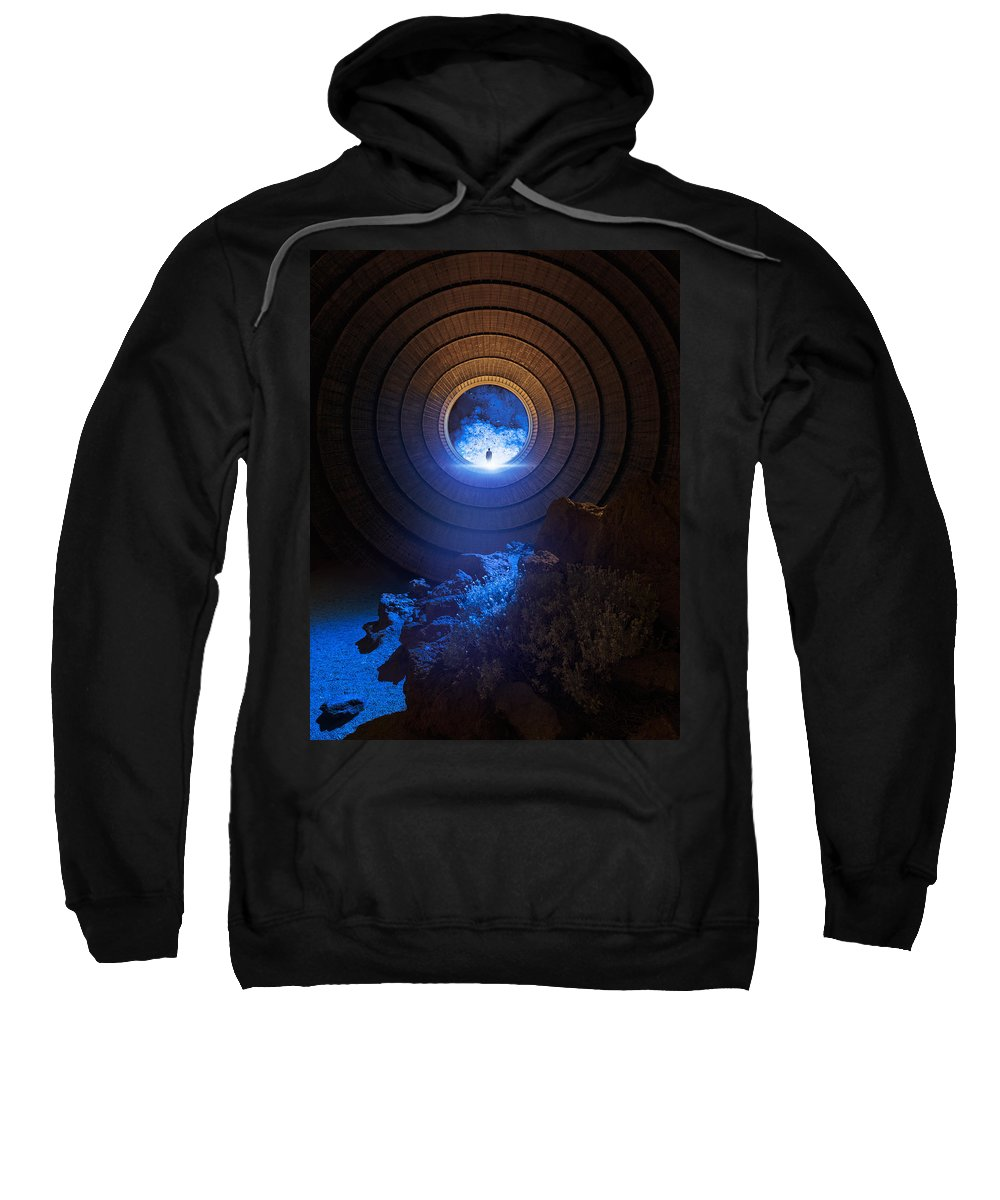 Mystery Sweatshirt featuring the photograph Core by Michal Karcz
