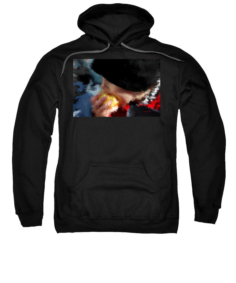 Child Sweatshirt featuring the digital art Core Values by Donna Blackhall