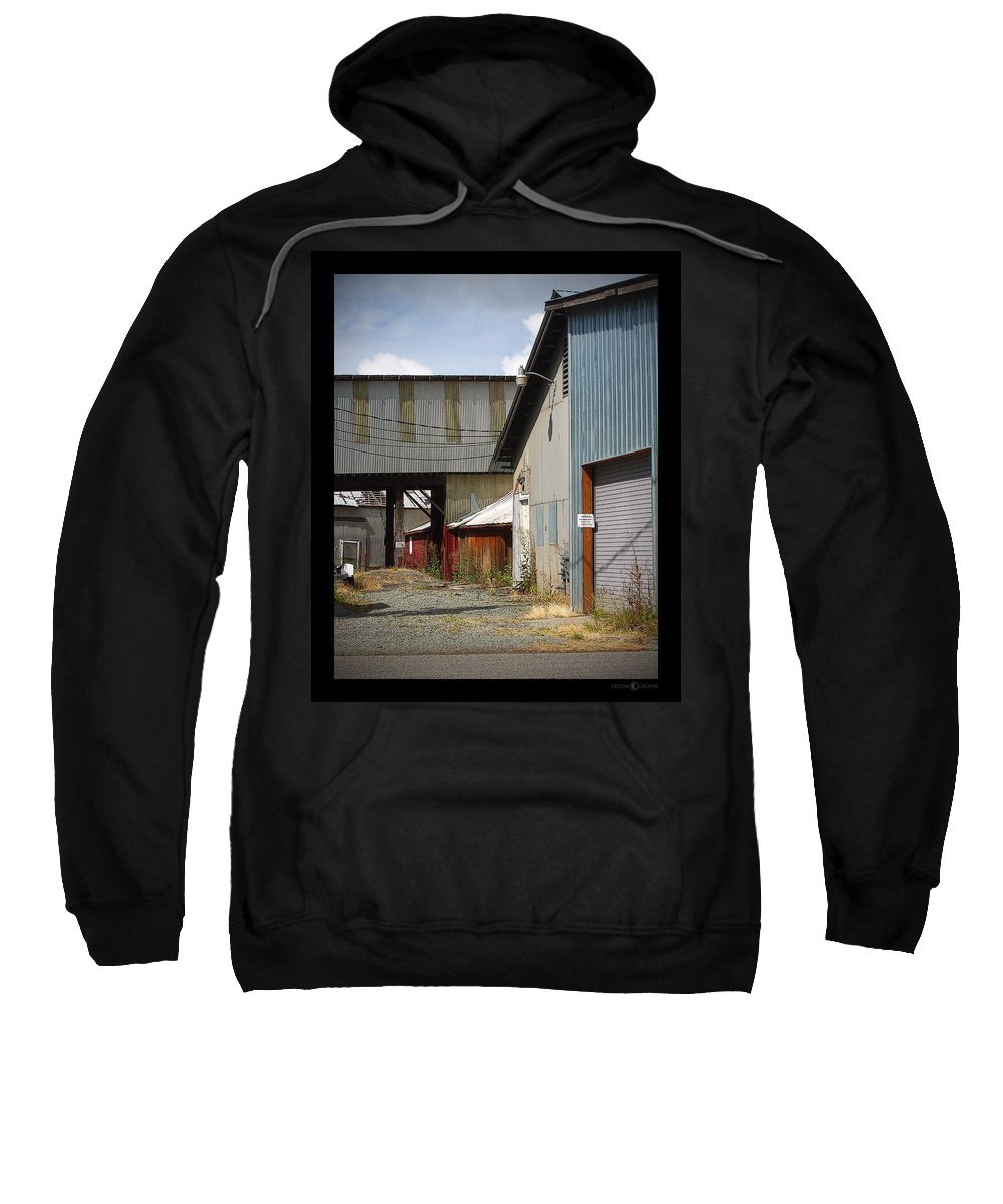 Corrugated Sweatshirt featuring the photograph Corrugated by Tim Nyberg