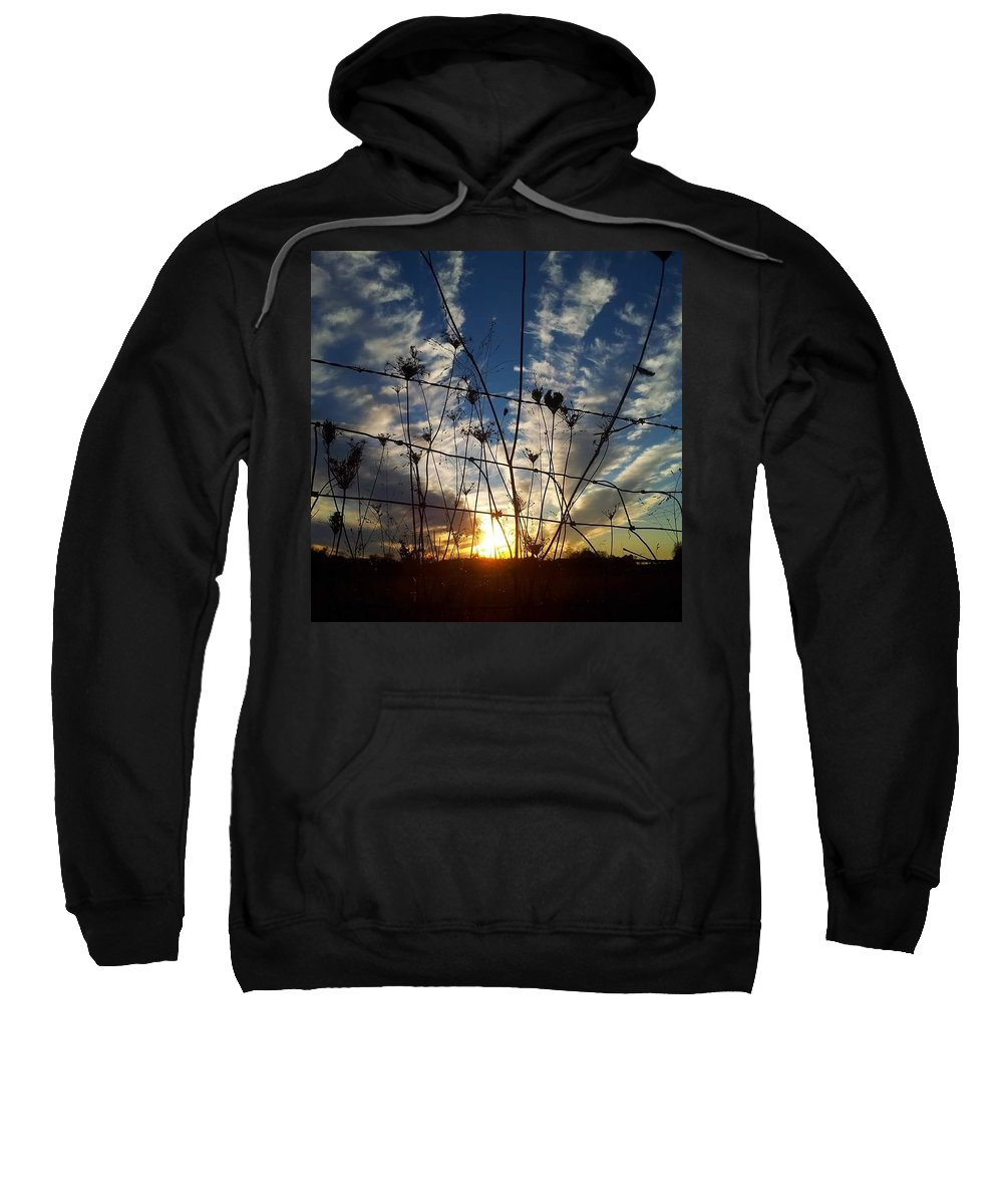 Sunrise Sweatshirt featuring the photograph Country Living by Aleshia Ariel Harris