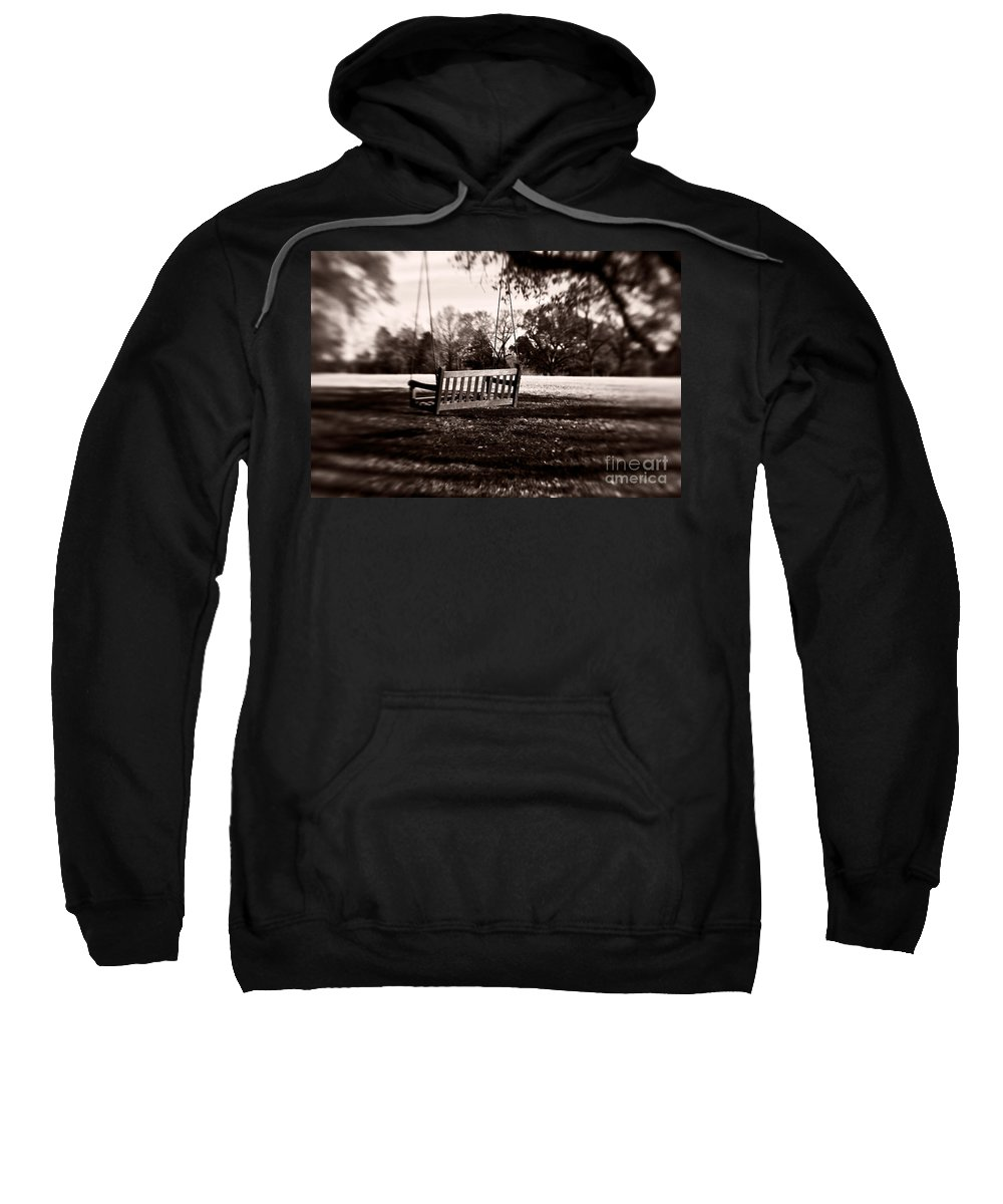 Swing Sweatshirt featuring the photograph Country Swing by Scott Pellegrin