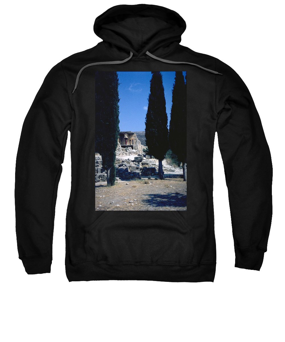 Crete Sweatshirt featuring the photograph Crete by Flavia Westerwelle