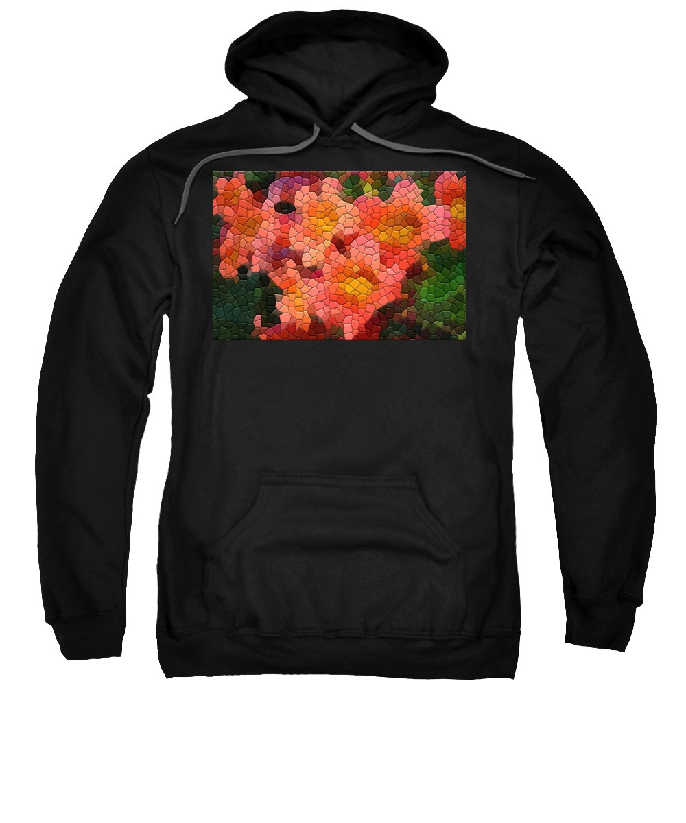 Vine Sweatshirt featuring the photograph Cross Vine 1 by Kathryn Meyer