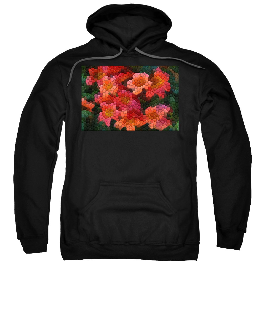 Vine Sweatshirt featuring the photograph Cross Vine 2 by Kathryn Meyer