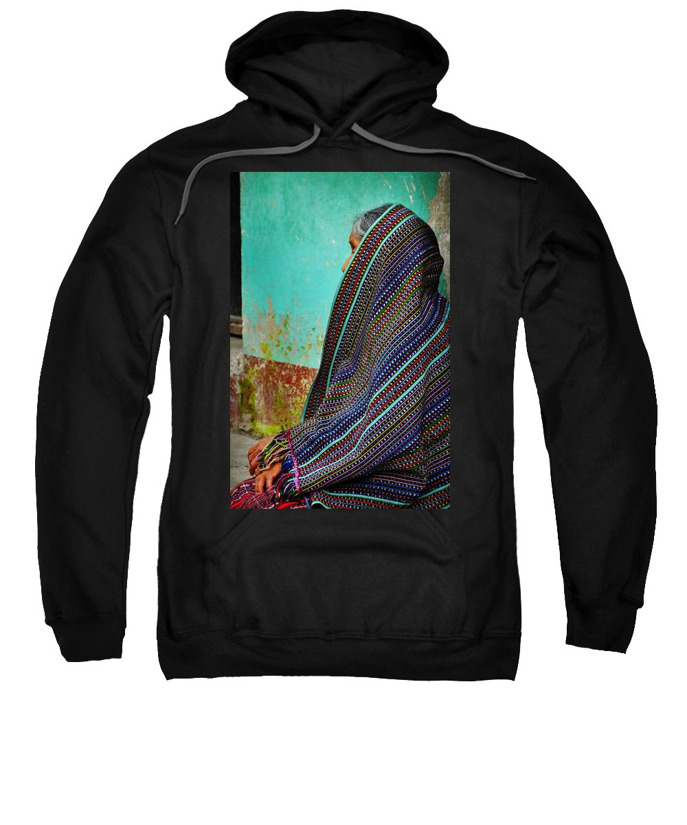 Skip Hunt Sweatshirt featuring the photograph Curandera by Skip Hunt